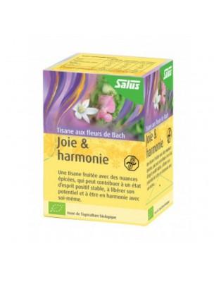 Joie et Harmonie Bio - Tisane aux Fleurs de Bach 15 sachets - Salus