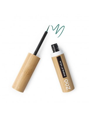 Eye liner Pinceau Bio - Vert kaki 075 3,8 ml - Zao Make-up