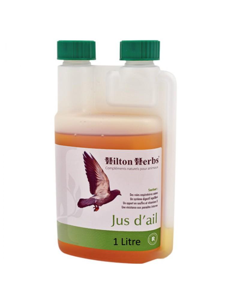 Jus d'ail - Respiration et Digestion Animaux 1 Litre - Hilton Herbs