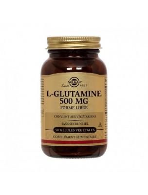 L-Glutamine 500 mg - Acide Aminé 50 capsules - Solgar