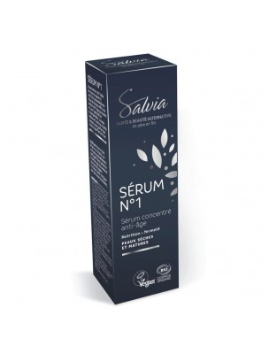 Sérum n°1 Bio - Sérum concentré Anti-âge 10 ml - Salvia