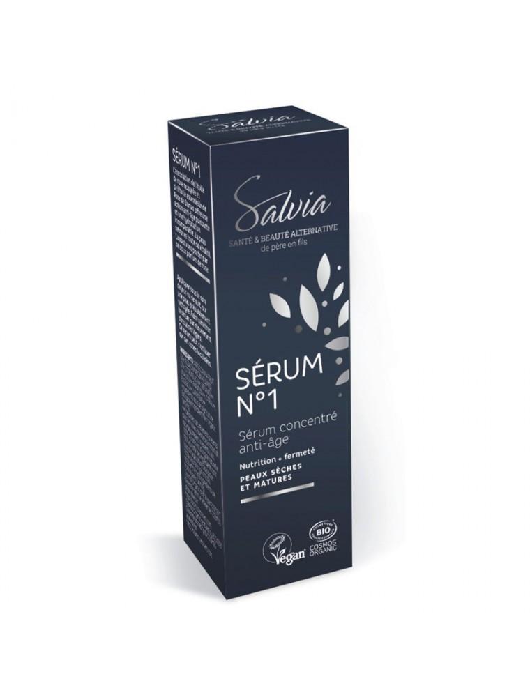 Sérum n°1 Bio - Sérum concentré Anti-âge 10 ml - Salvia