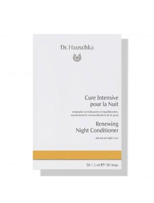Cure Intensive pour la Nuit - Soin du visage 50 ampoules - Dr Hauschka