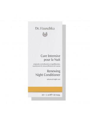 Cure Intensive pour la Nuit - Soin du visage 10 ampoules - Dr Hauschka