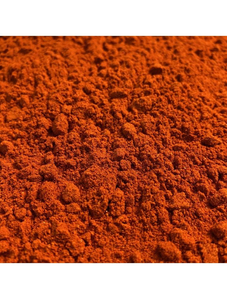 Paprika Doux Bio - Poudre 100g - Tisane de Capsicum annuum L.