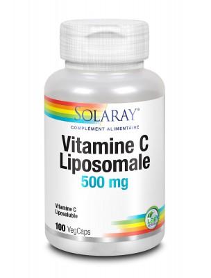 Vitamine C liposomale 500 mg- Tonus 100 capsules végétales- Solaray