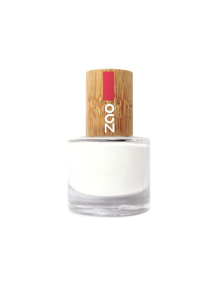 French Manucure Bio - Soin des ongles 641 Blanc 8 ml - Zao Make-up