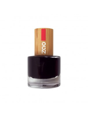 French Manucure Bio - Soin des ongles 644 Noir 8 ml - Zao Make-up