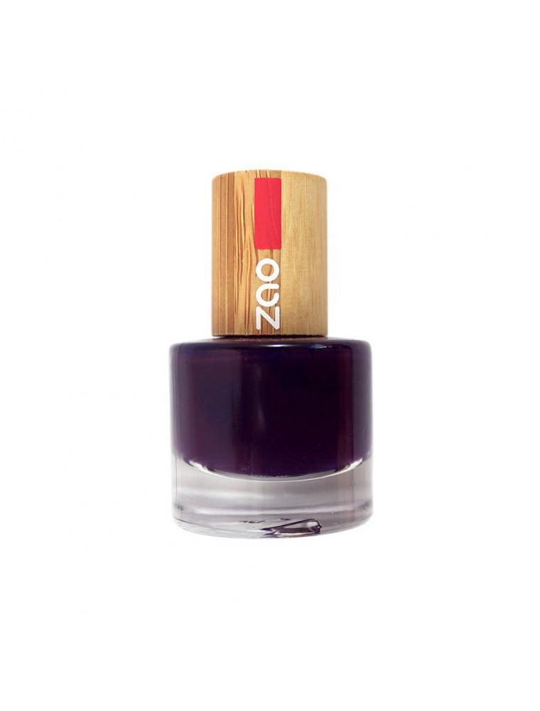 Vernis à ongles Bio - 651 Prune 8 ml - Zao Make-up