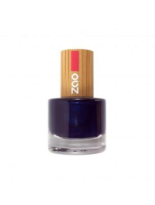 Vernis à ongles Bio - 653 Bleu nuit 8 ml - Zao Make-up