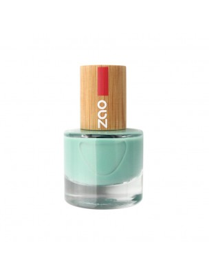 Vernis à ongles Bio - 660 Vert d'eau 8 ml - Zao Make-up