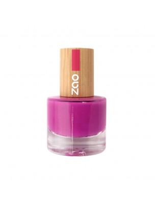 Vernis à ongles Bio - 661 Fuschia 8 ml - Zao Make-up