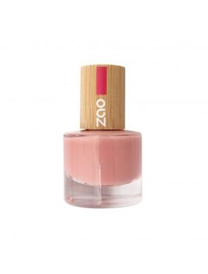 Vernis à ongles Bio - 662 Rose poudré 8 ml - Zao Make-up