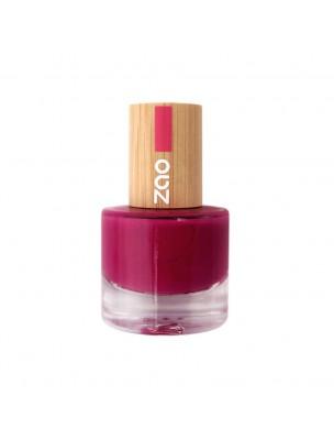 Vernis à ongles Bio - 663 Framboise 8 ml - Zao Make-up