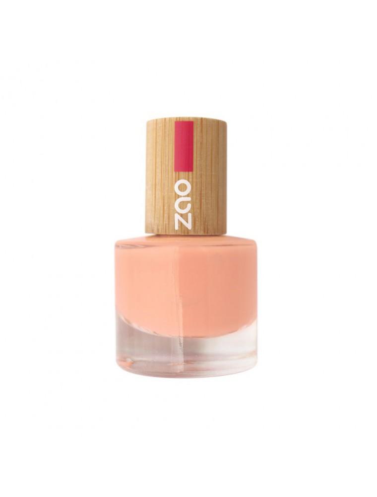 Vernis à ongles Bio - 664 Pêche fizz 8 ml - Zao Make-up