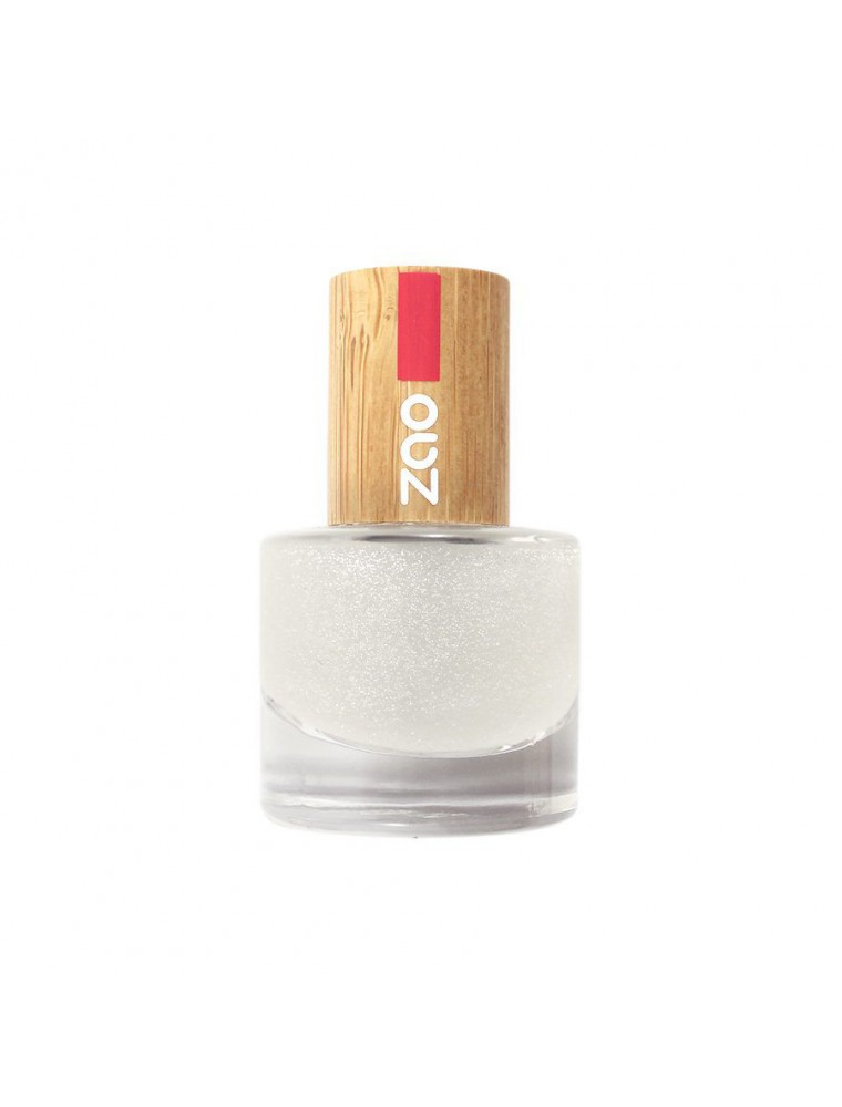 Top Coat Bio - 665 Paillette 8 ml - Zao Make-up