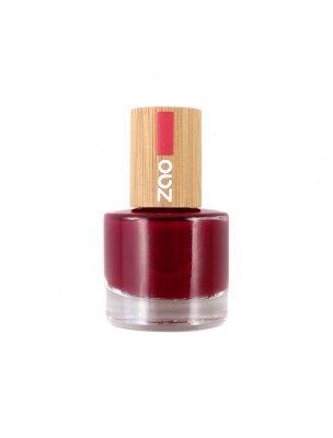 Vernis à ongles Bio - 668 Rouge passion 8 ml - Zao Make-up