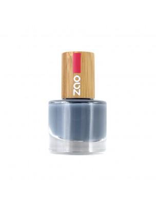 Vernis à ongles Bio - 670 Bleu gris 8 ml - Zao Make-up