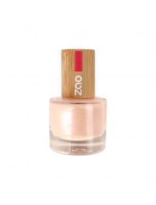 Vernis à ongles Bio - 672 Rose ballerine 8 ml - Zao Make-up