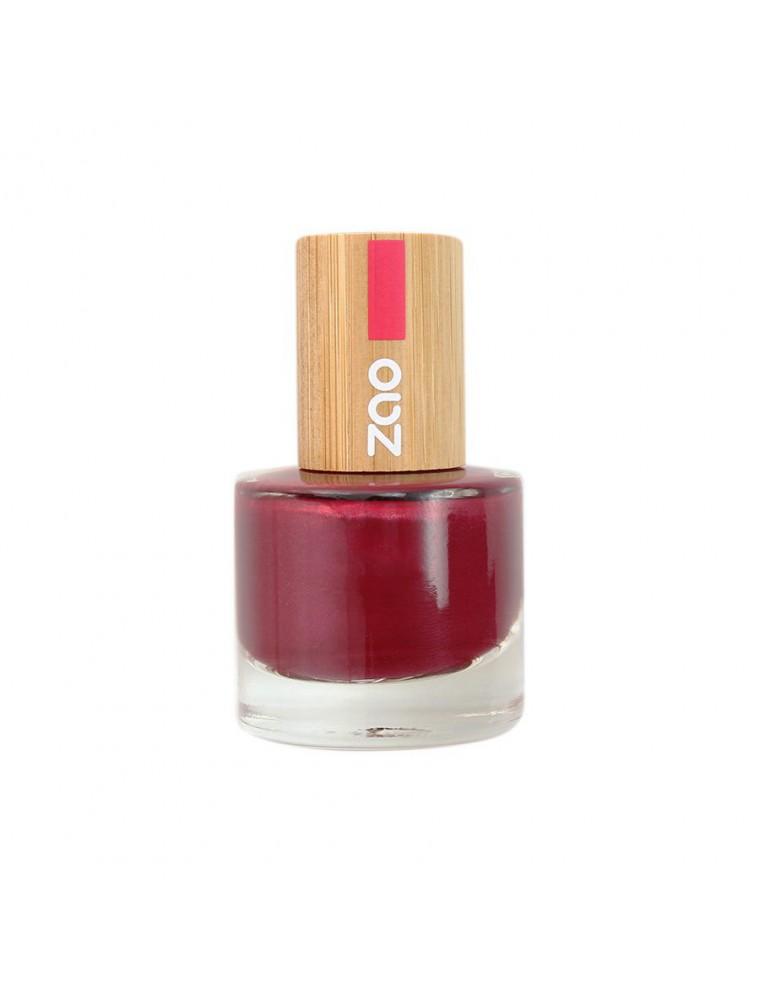 Vernis à ongles Bio - 674 Pomme d'amour 8 ml - Zao Make-up