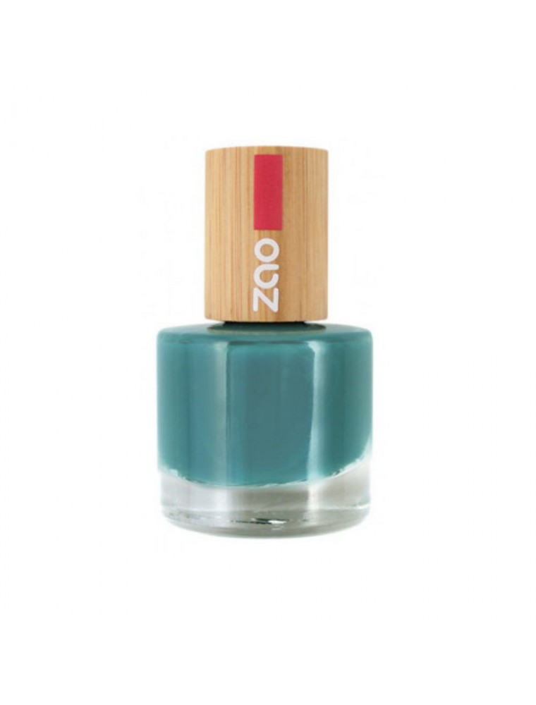Vernis à ongles Bio - 676 Biscay bay 8 ml - Zao Make-up