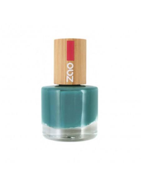 Vernis à ongles Bio - 676 Biscay bay 8 ml - Zao Make-up