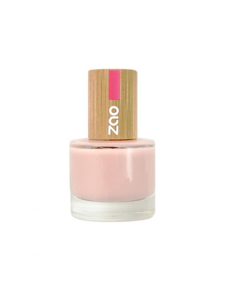 Vernis à ongles Bio - 675 Rose givré 8 ml - Zao Make-up