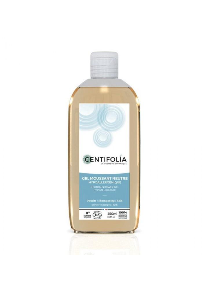 Gel moussant neutre Bio - Hypoallergénique 250 ml - Centifolia