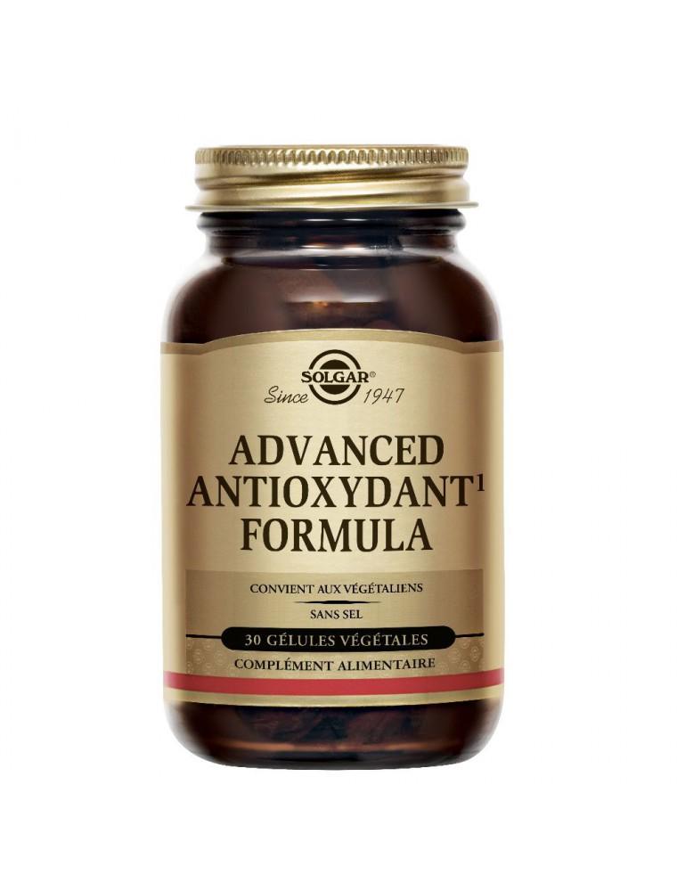 Advanced Antioxydant Formula - 30 géllules - Solgar