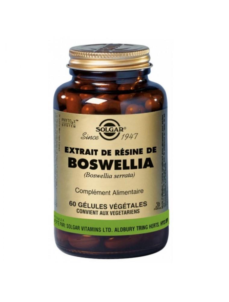 Boswellia - Souplesse et articulation 60 géllules - Solgar