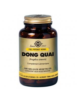 Dong Quai - Equilibre féminin 100 géllules - Solgar