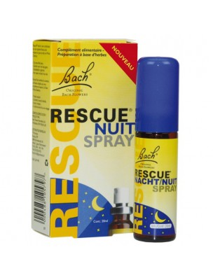Rescue Nuit Spray 20 ml – Fleurs de Bach Original