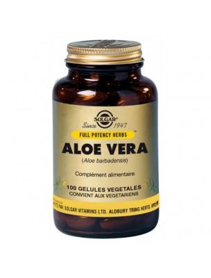 Aloe Vera - Transit instestinal 100 gélules - Solgar