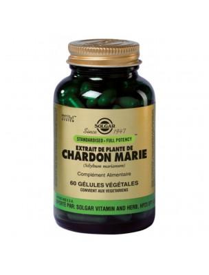 Chardon-Marie - Fonction hépatique 60 gélules - Solgar