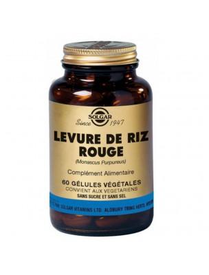 Levure de Riz Rouge - Cholestérol 60 géllules - Solgar