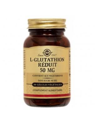 L-Glutathion Réduit - Detoxifiant 30 gélules végétales - Solgar