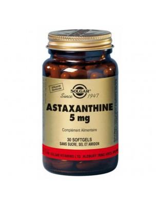Astaxanthine  - Peau 30 géllules - Solgar