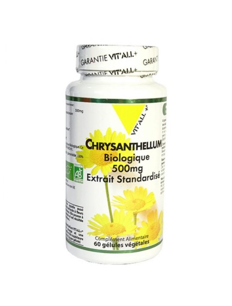 Chrysantellum Bio 500 mg - Protecteur hépatique 60 gélules végétales - Vit'all+