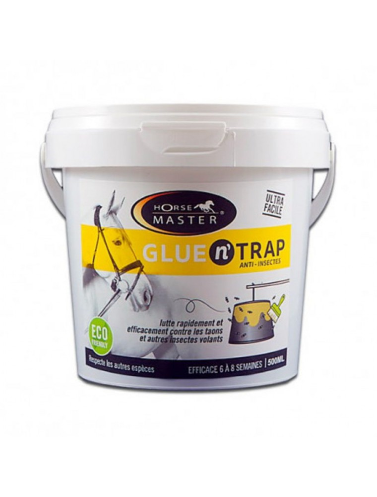 Glue n'Trap - Piège Anti-Insectes pour chevaux 500 ml - Horse Master