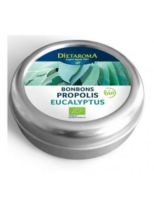 Propolis et Eucalyptus Bio Bonbons - Pour la gorge 50 g - Dietaroma