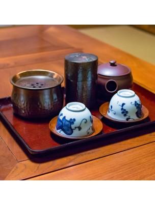 Coffret 4 Thés Bio - Détox, Vitalité, Mamans, Scarlett Boîtes en métal et sa boule à thé - L'Autre thé