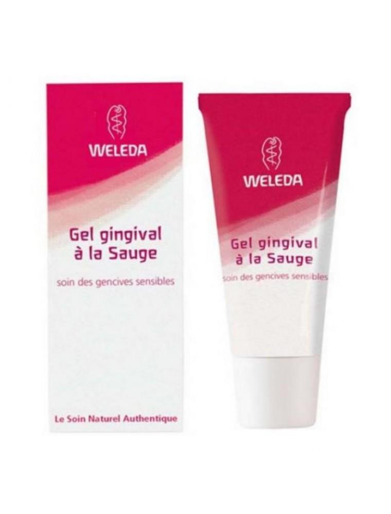 Baume Gingival à la sauge Bio - Pour les gencives sensibles et irritées 30 ml - Weleda