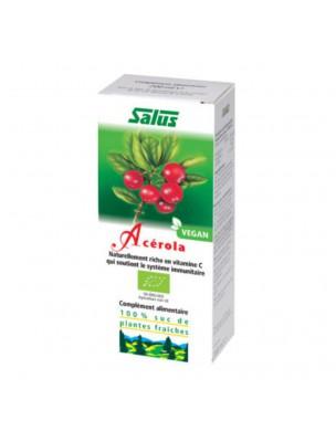 Acérola Bio - Jus de plante fraîche 200 ml - Salus