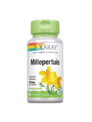 Millepertuis 230 mg - Stress et Sommeil 60 capsules végétales - Solaray