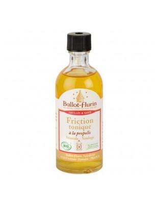 Friction Tonique à la propolis - Souplesse et Jambes lourdes 100 ml - Ballot-Flurin