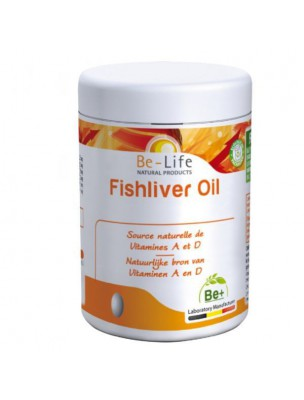 Fishliver Oil (Foie de Morue) Bio - Huile de Foie de Morue 180 capsules - Be-Life