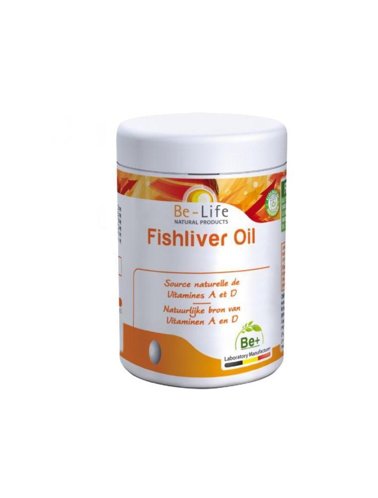 Fishliver Oil (Foie de Morue) Bio - Huile de Foie de Morue 90 capsules - Be-Life