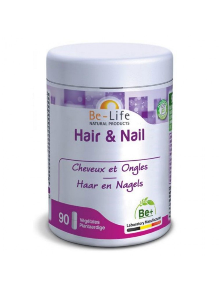 Hair et Nail - Cheveux et Ongles 90 gélules - Be-Life