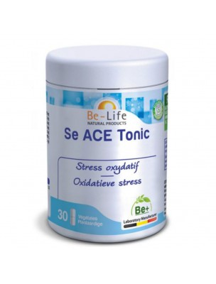 Se ACE Tonic - Sélénium et Vitamines Stress oxydatif 60 gélules - Be-Life