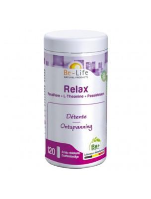 Relax Passiflore et Magnésium - Calme et Sommeil 120 gélules - Be-Life